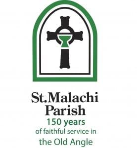 MAL_Parish_Logo+Tag_2Color_150Anniv
