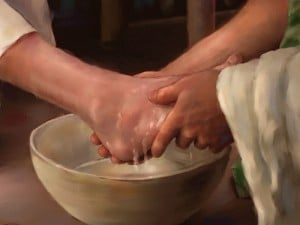 Washing of the Feet at Holy Thursday Liturgy