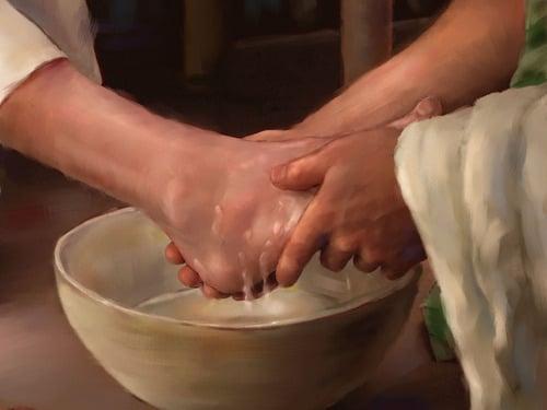 Catholic Washing Feet 96