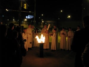 The Service of Light at the Easter Vigil