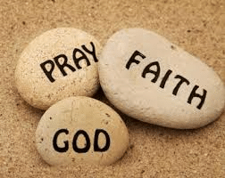 Pray Faith God Rocks