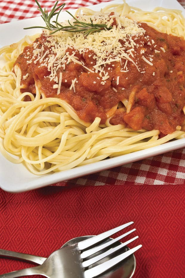 Spaghetti-Dinner