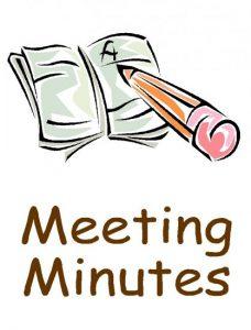 Meeting Minutes Image